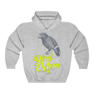 Bird Mom Unisex Heavy Blend™ Hooded Sweatshirt-Hoodie-PureDesignTees