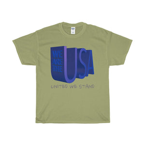 We Are the USA Unisex Heavy Cotton Tee-T-Shirt-PureDesignTees