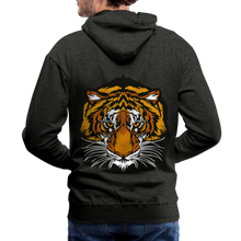 Load image into Gallery viewer, Wild and Free Tiger Men's Premium Hoodie-Men's Premium Hoodie-PureDesignTees