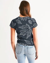 Load image into Gallery viewer, Fall leaves Women's Tee-cloth-PureDesignTees