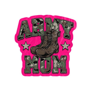 Army Mom Large Beach Towel-Freeform Beach Towel-PureDesignTees