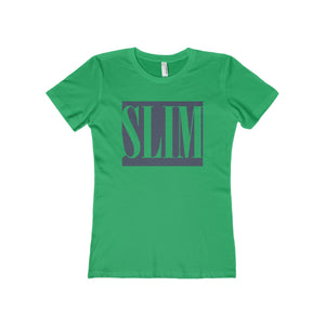 SLIM Women's The Boyfriend Tee-T-Shirt-PureDesignTees