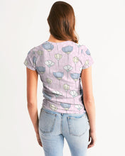 Load image into Gallery viewer, PATTERN Pink Women's Tee-cloth-PureDesignTees
