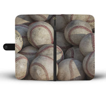 Load image into Gallery viewer, Baseball Phone Wallet Case-Wallet Case-PureDesignTees