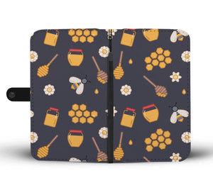 Honey Beekeeper Phone Wallet Case-Wallet Case-PureDesignTees