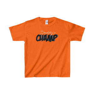 Daddy's Champ Kids Heavy Cotton™ Tee-Kids clothes-PureDesignTees
