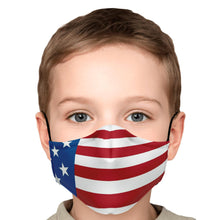 Load image into Gallery viewer, American Flag Face Mask-Fashion Face Mask - AOP-PureDesignTees