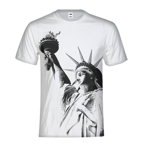 Statue of Liberty Men's Tee-cloth-PureDesignTees