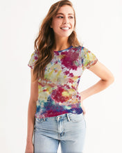 Load image into Gallery viewer, Tie Dye firework Women's Tee-cloth-PureDesignTees