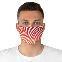 Load image into Gallery viewer, Vortex Optical Illusion Fabric Face Mask-Accessories-PureDesignTees