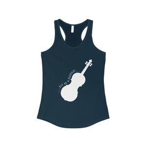 Fit as a Fiddle! Women's The Ideal Racerback Tank-Tank Top-PureDesignTees