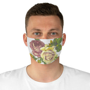 Roses Fabric Face Mask-Accessories-PureDesignTees