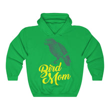 Load image into Gallery viewer, Bird Mom Unisex Heavy Blend™ Hooded Sweatshirt-Hoodie-PureDesignTees