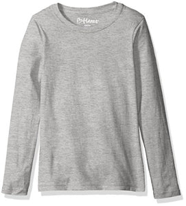 Hanes Big Girls' ComfortSoft Long Sleeve Tee-PureDesignTees