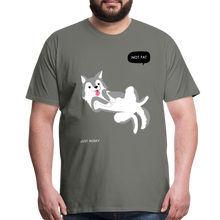 Load image into Gallery viewer, Not Fat Just Husky Men's Premium T-Shirt-Men's Premium T-Shirt-PureDesignTees