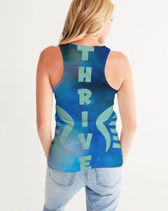 Thrive with Angel Wings Women's Tank-cloth-PureDesignTees