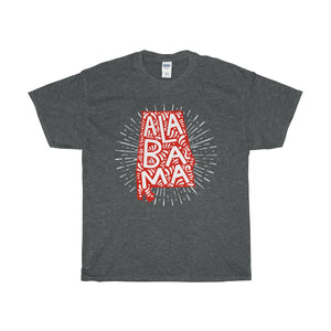 Alabama Unisex Heavy Cotton Tee-T-Shirt-PureDesignTees