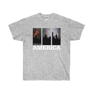 This is America - Worship Unisex Ultra Cotton Tee-T-Shirt-PureDesignTees