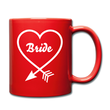 Load image into Gallery viewer, Bride Heart Full Color Mug-Full Color Mug-PureDesignTees
