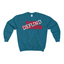 Load image into Gallery viewer, Defund Planned Parenthood Heavy Blend™ Adult Crewneck Sweatshirt-Sweatshirt-PureDesignTees