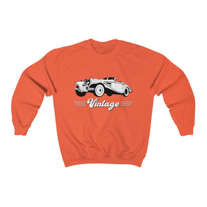 Vintage Car Hotrod Heavy Blend™ Adult Crewneck Sweatshirt