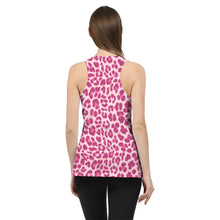 Load image into Gallery viewer, Animal Print Pink Combo Women's Tank-cloth-PureDesignTees