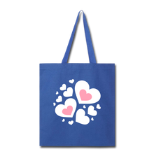 Load image into Gallery viewer, Heart Tote Bag-Tote Bag-PureDesignTees