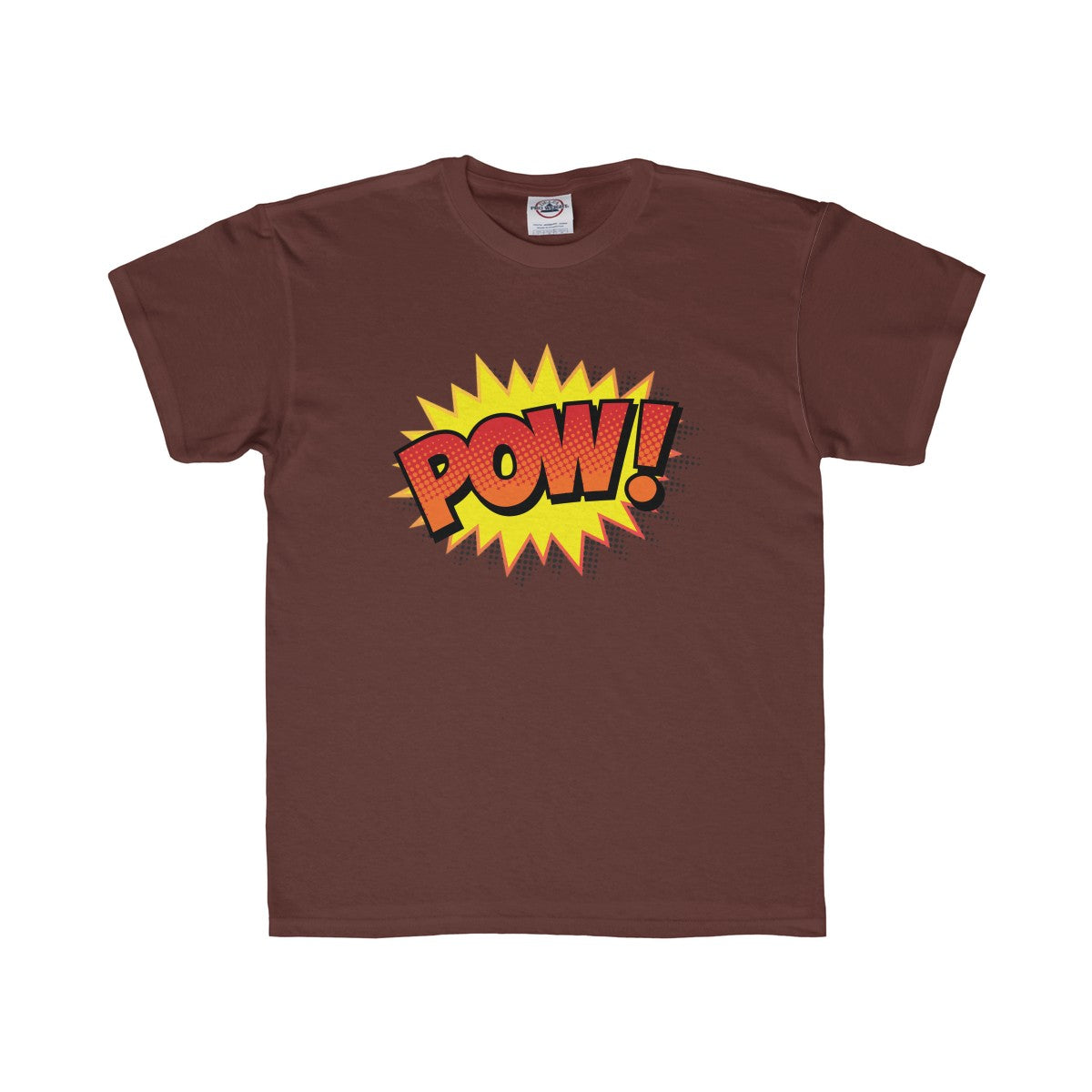 Comic Book Pow! Kids Regular Fit Tee - PureDesignTees