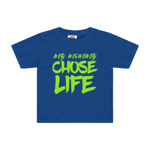 My Mommy Chose Life Kids Tee - PureDesignTees