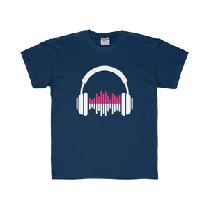 Music Lover Youth Regular Fit Tee-Kids clothes-PureDesignTees