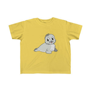 Cute Baby Seal Toddler Fine Jersey Tee-Kids clothes-PureDesignTees