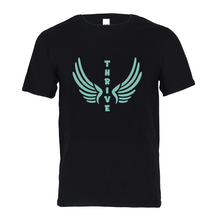 Load image into Gallery viewer, Thrive with Wings Kids Graphic Tee-cloth-PureDesignTees