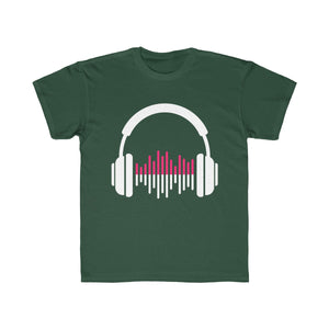 Music Lover Kids Regular Fit Tee-Kids clothes-PureDesignTees