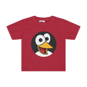 Happy Penguin Toddler Tee-Kids clothes-PureDesignTees