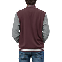 Load image into Gallery viewer, Photoshop Guru Crop Tool Men's Varsity Jacket-Varsity Jacket-PureDesignTees