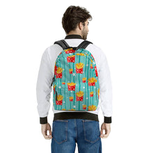 Load image into Gallery viewer, Freedom Fries - All Over Print Cotton Backpack-Bags-PureDesignTees