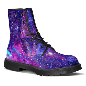 Intergalactic - Leather Boots-Shoes-PureDesignTees