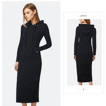 Load image into Gallery viewer, Autumn & Winter Casual Ankle-length Long Sleeve Dress-Dress-PureDesignTees