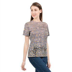 Confetti Watercolor Women's Tee-cloth-PureDesignTees