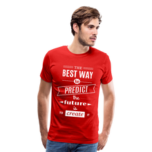 Load image into Gallery viewer, The Best Way To Predict the Future Men's Premium Tee-Men's Premium T-Shirt-PureDesignTees