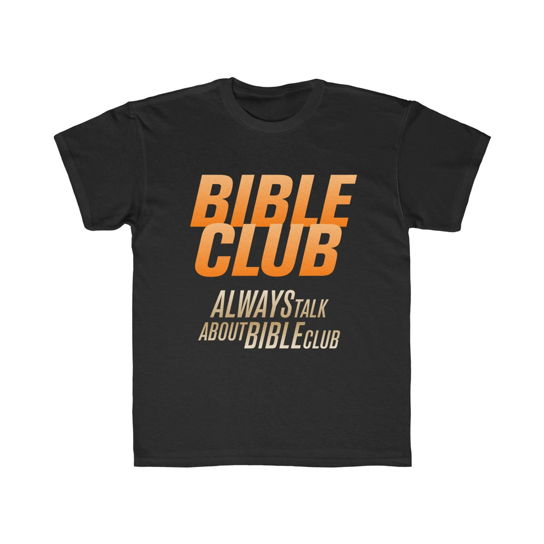 Bible Club Kids Regular Fit Tee-Kids clothes-PureDesignTees