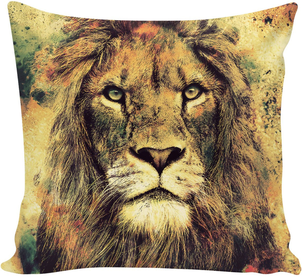 Lion -The King II-Pillows-PureDesignTees
