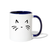 Load image into Gallery viewer, Cat Contrast Coffee Mug-Contrast Coffee Mug-PureDesignTees