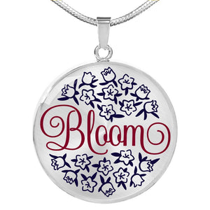 Bloom Luxury Necklace, Jewelry - PureDesignTees