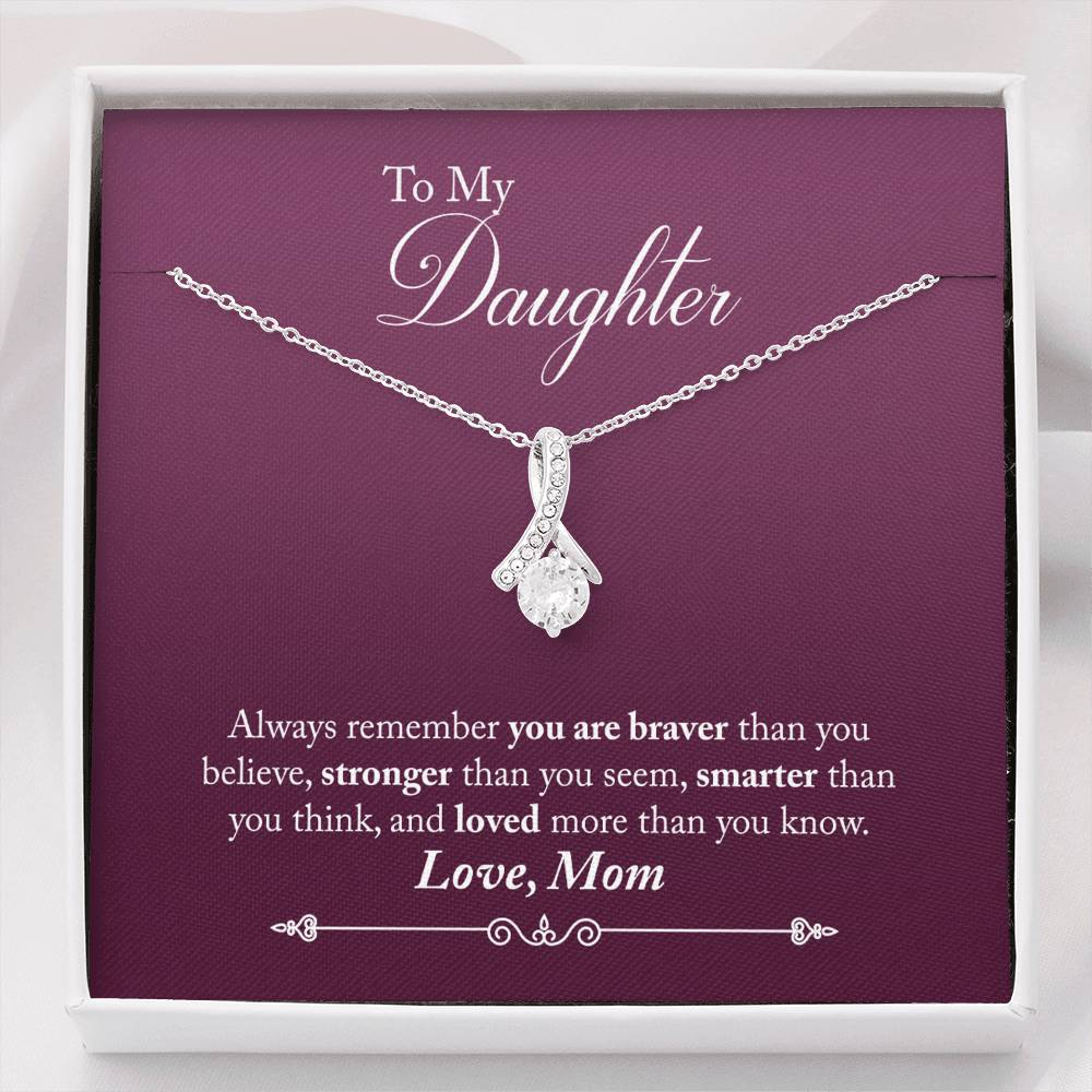 Alluring Beauty Necklace - Gift for Daughter from Mother-Jewelry-PureDesignTees