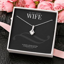 Load image into Gallery viewer, Alluring Beauty Necklace Gift for Wife-Jewelry-PureDesignTees