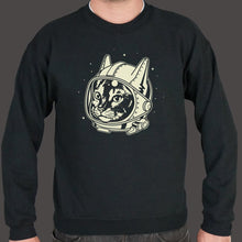 Load image into Gallery viewer, AstroCat Sweater (Mens)-Sweatshirt-PureDesignTees