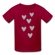 Load image into Gallery viewer, Heart Kids' T-Shirt-Kids' T-Shirt-PureDesignTees