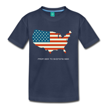 Load image into Gallery viewer, USA From Sea to Shining Sea Kids' Premium T-Shirt-Kids' Premium T-Shirt-PureDesignTees