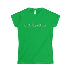 Authentic Softstyle Women's T-Shirt-T-Shirt-PureDesignTees